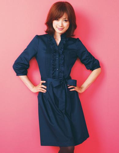 高垣麗子のワンピース画像